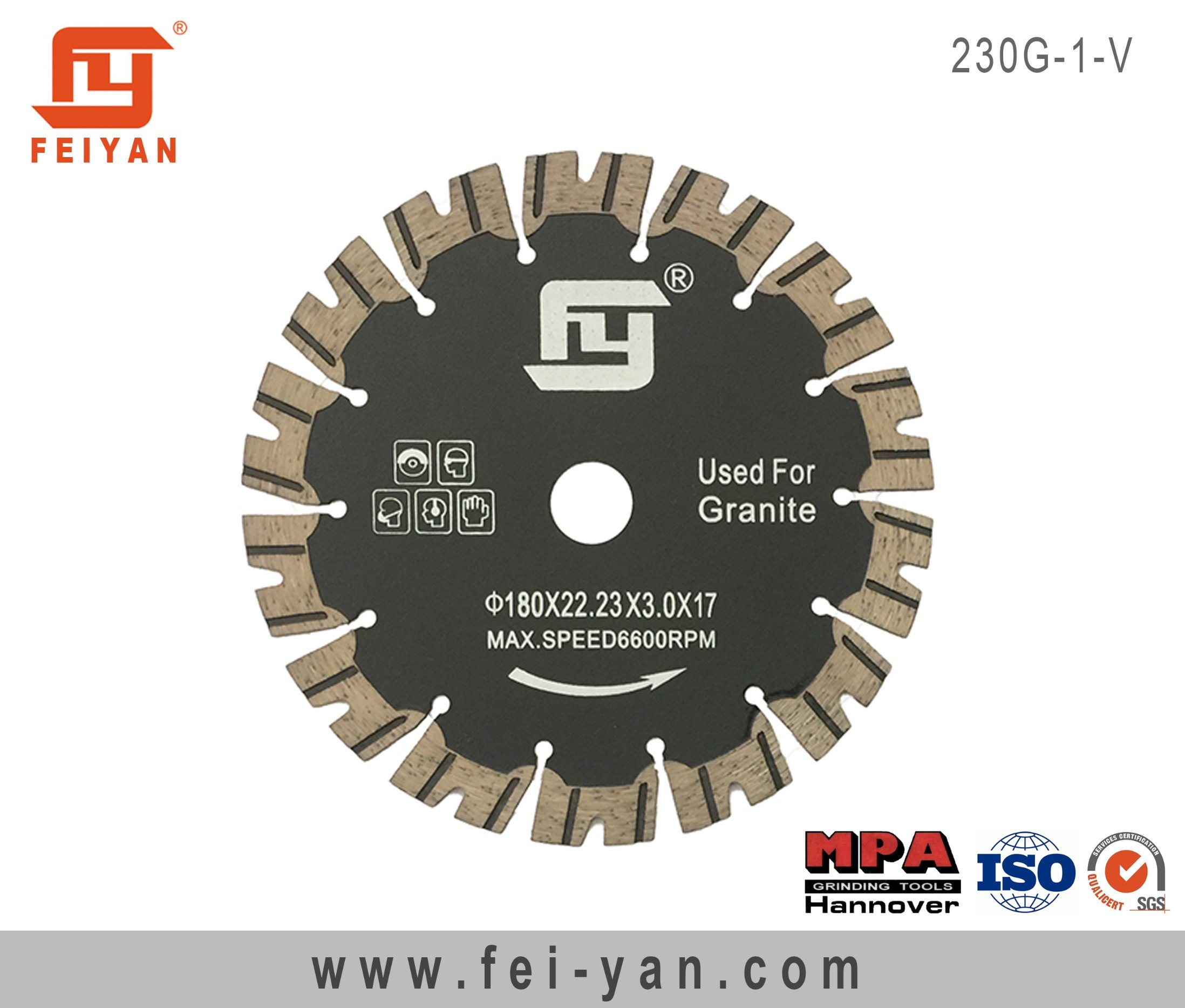 Turbo Blade with Protective for Granite-V Type