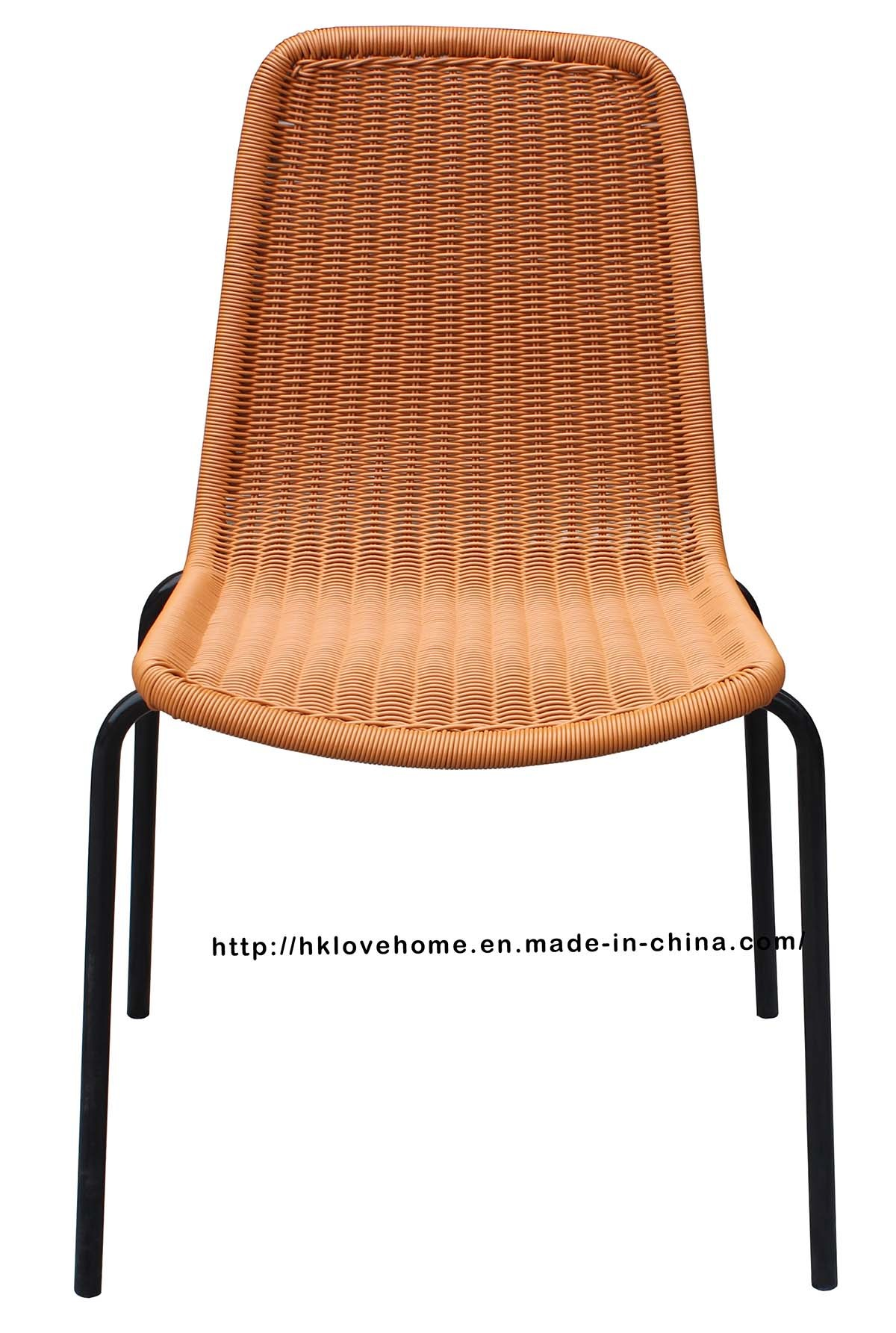 Replica Outdoor Indoor Leisure Metal Steel Rattan Chair