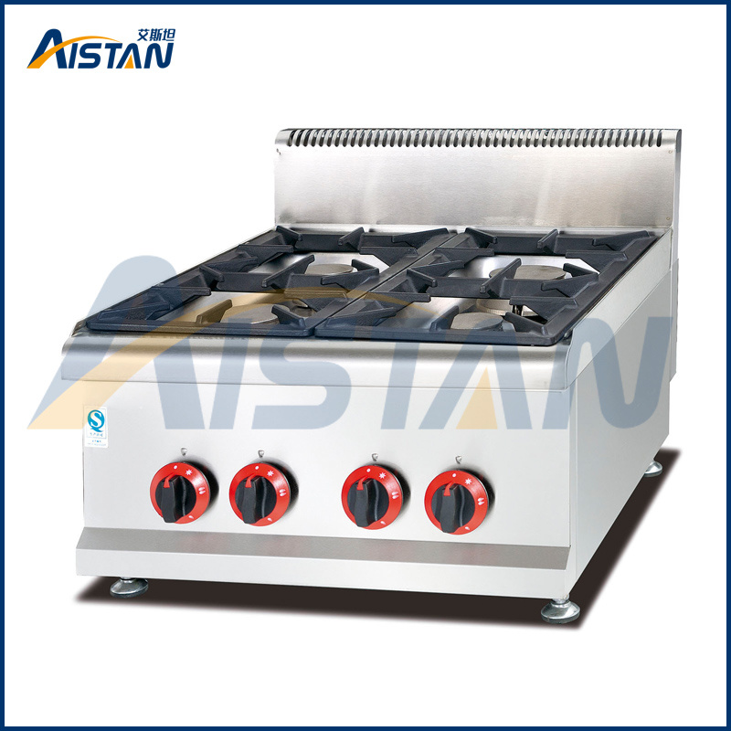 Gh587 Counter Top Gas Stove of Catering Equipment