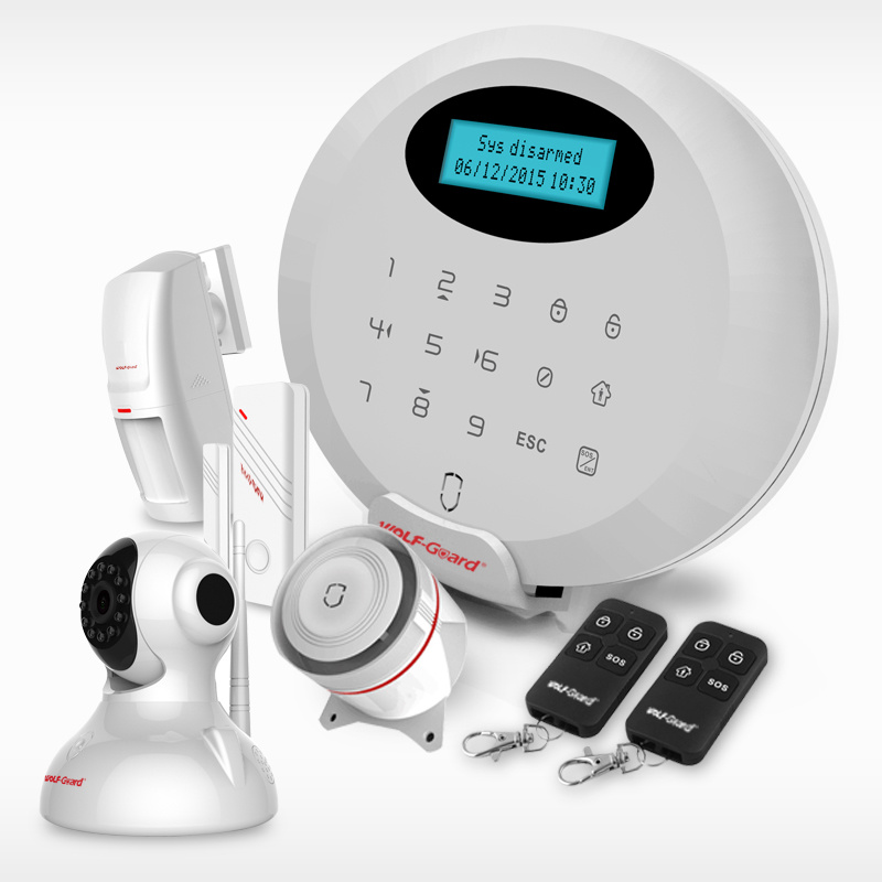 APP Control Smart Wireless Security Alarm System Allarme Casa Professionale