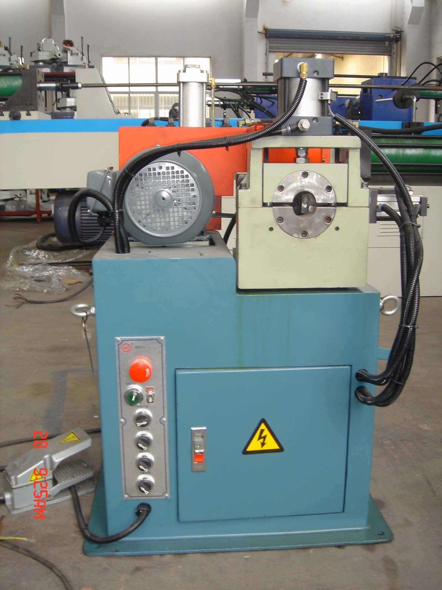 Pipe Chamfering Machine (GM-80A)