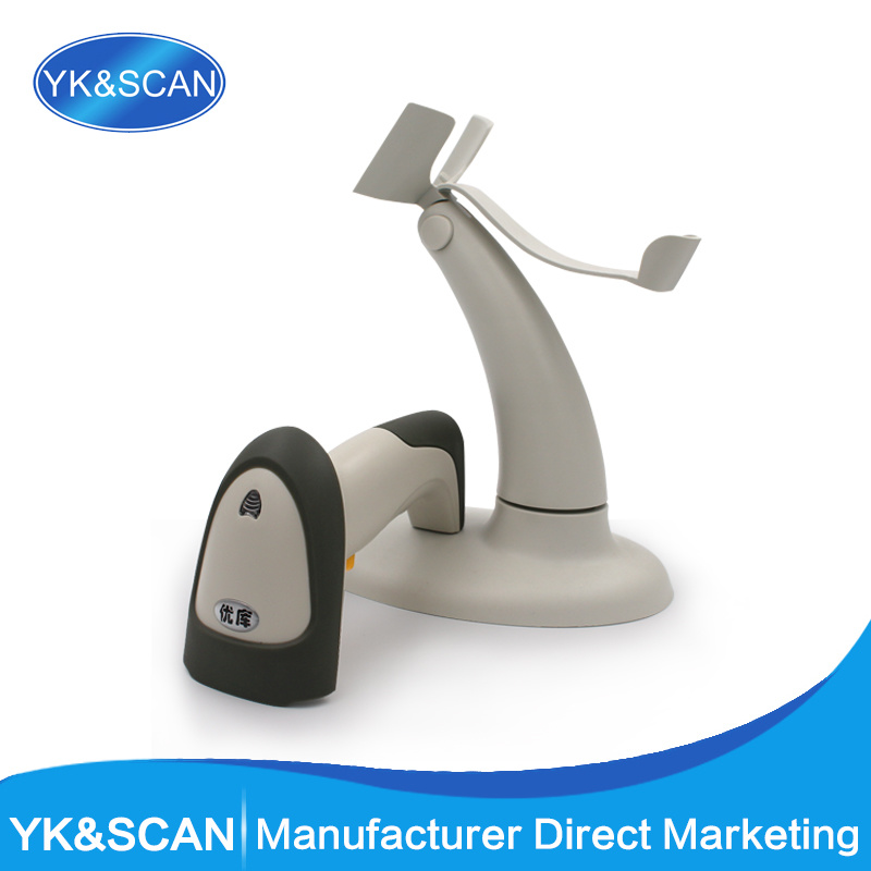 1d Barcode Scanner with Holder USB Interface POS System Bar Code Scan Supermarket Retail Store