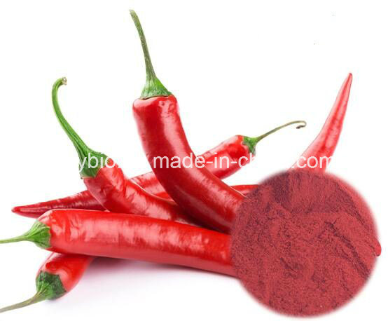 100% Natural Food Colorant Red Pepper Extract 1% Capsaicin