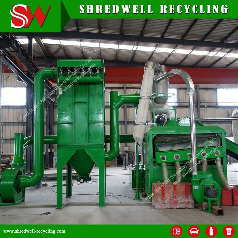 Heavy-Duty Single Shaft Shredder for E-Waste Recycling
