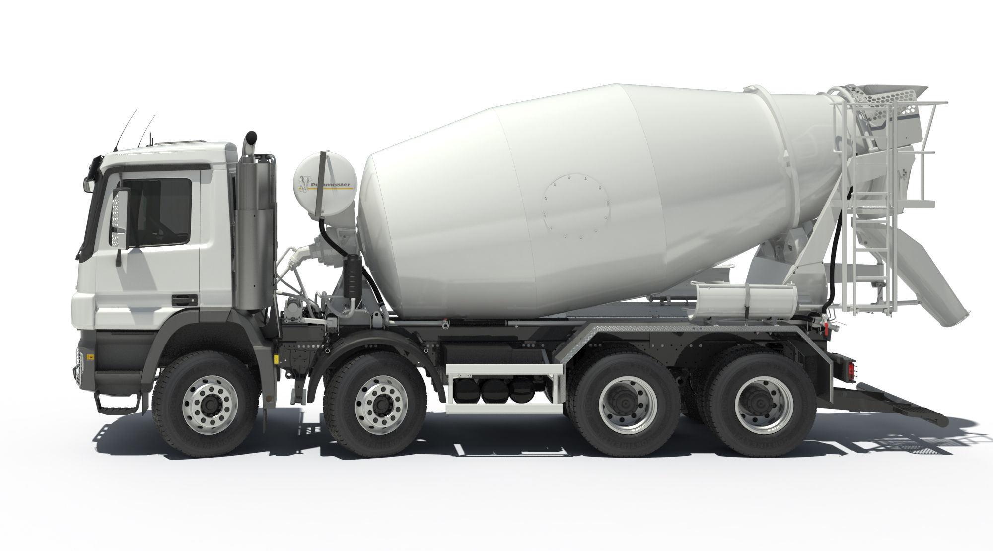 C&C 380PS 6X4 Cement Mixer Truck