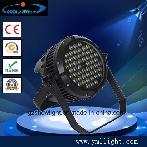 Indoor 8channel 54PCS 3W LED PAR Lighting Stage PAR Light