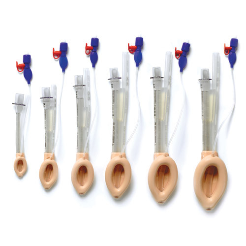 Reusable Silicone Double Lumen Laryngeal Mask