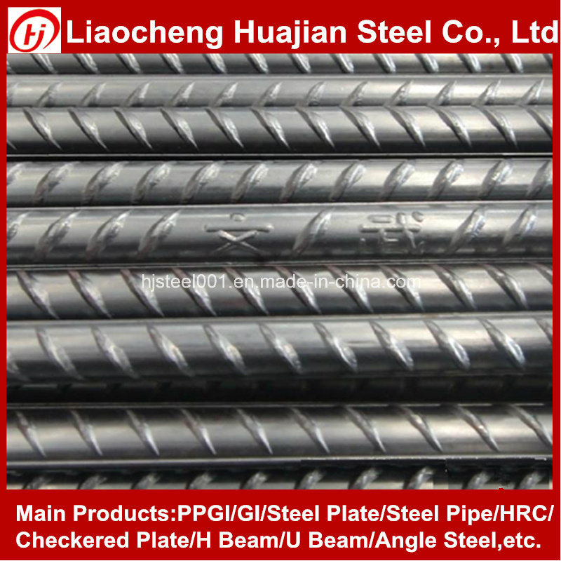 Chinese Manufacturers 12m HRB500 Deformed Steel Iron Bar for Construction