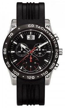 Ss Case Ceramic Bezel Rubber Band Quality Timepiece