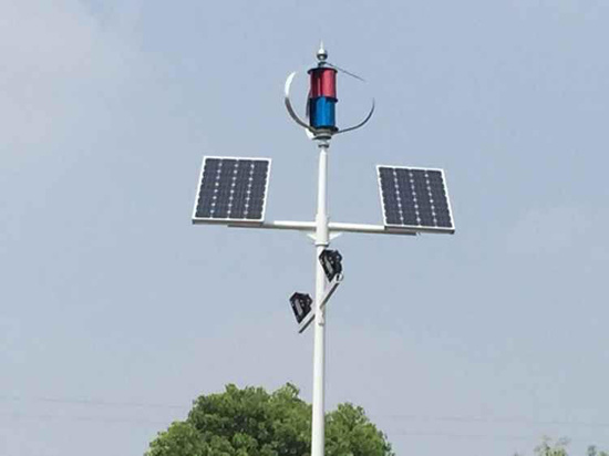 Solar and Wind Hybrid System 200W off-Grid Wind Generators Wind Mill for Home
