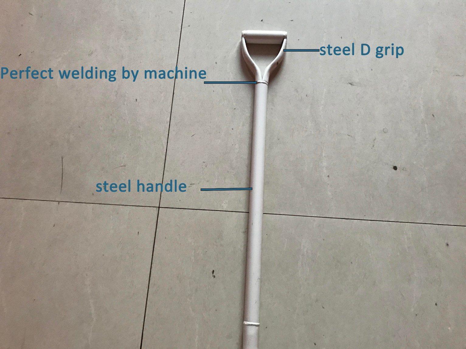 Steel D Grip Steel Handle Shovel