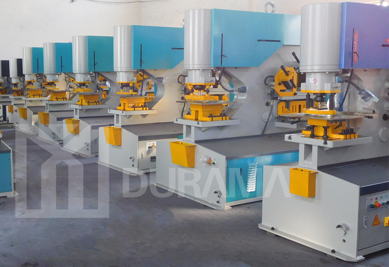 Hydraulic Ironworker for Punching, Cutting, Bending and Notching