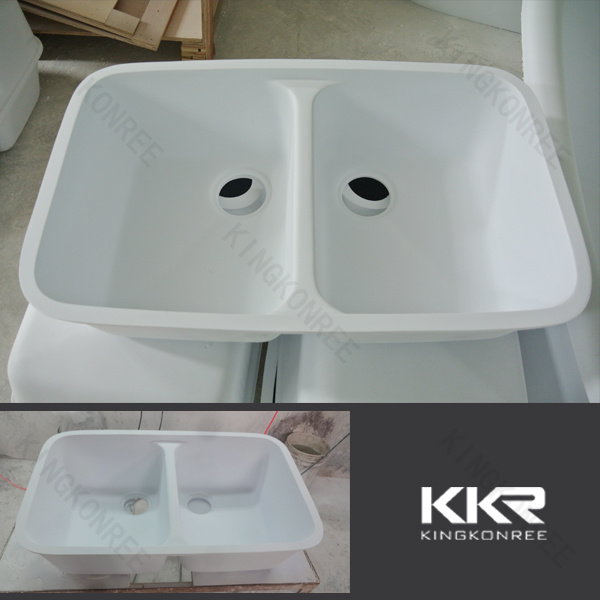 China Solid Surface Undermount Kitchen Sinks Photos