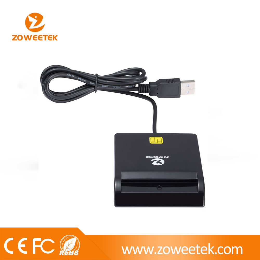 USB Cac Card Reader (Support Smart/ID/IC/ATM/Credit Card)