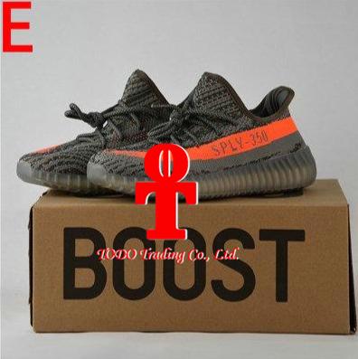 . 2017 Yeezy 350 Boost V2 Beluga Sply 350 Black White Black Peach Men Women Running Shoes Kanye West Yezzy Boost 350 Season 3 with Box