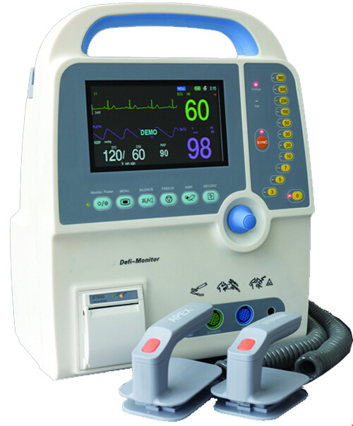 PT-9000c Hot Sale Medical Equipment Portable Defibrillator Monitor