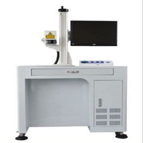 80W High Precision Marble Fiber Laser Marking Machine for Chip Manufacturing Jieda