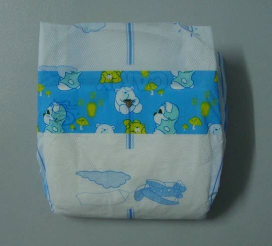 Disposable Camy Baby Diaper with PE Film
