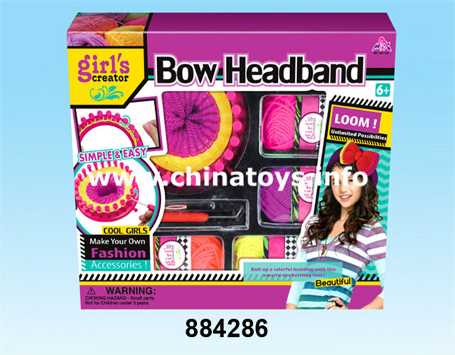 Educational Toys DIY Plastic Toy for Girl Beauty Set Gift (884292)