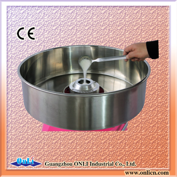 Automatic Commercial Cotton Candy Machine for Wholesale Price