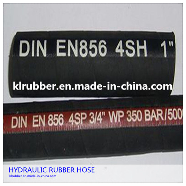 High Pressure Steel Wire Braided Rubber Hydraulic Hose