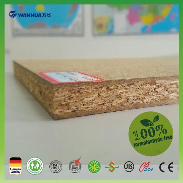 18mm E0 Grade Moisture Proof Wheat Straw Board for Sale