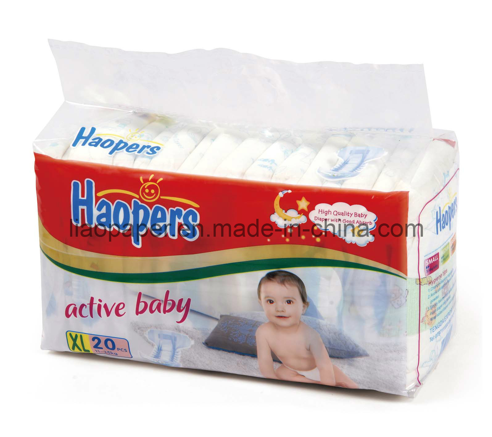 Disposable Soft Cheap Good Quality Baby Diapers