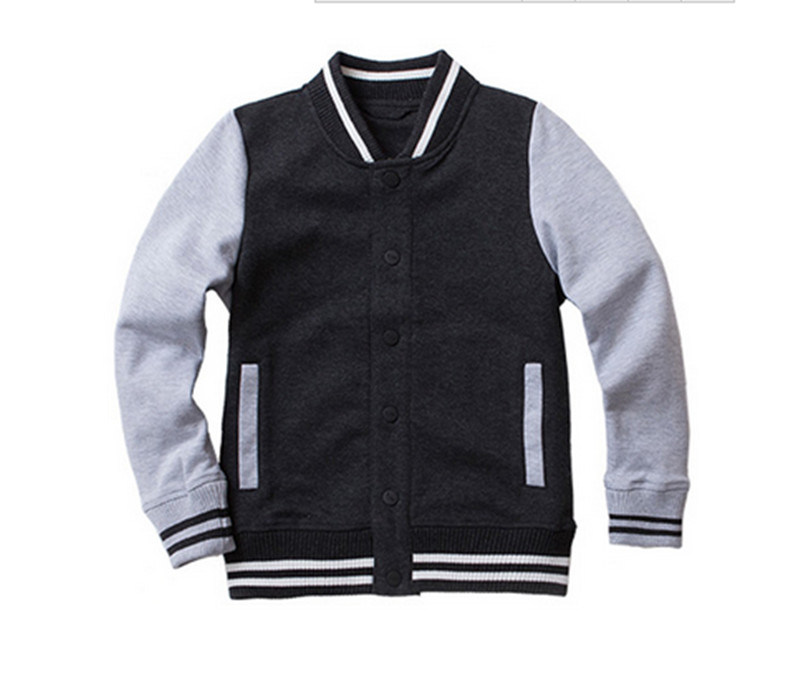 Fashion Cotton School Kids Casual Baseball Hoodie with Pants