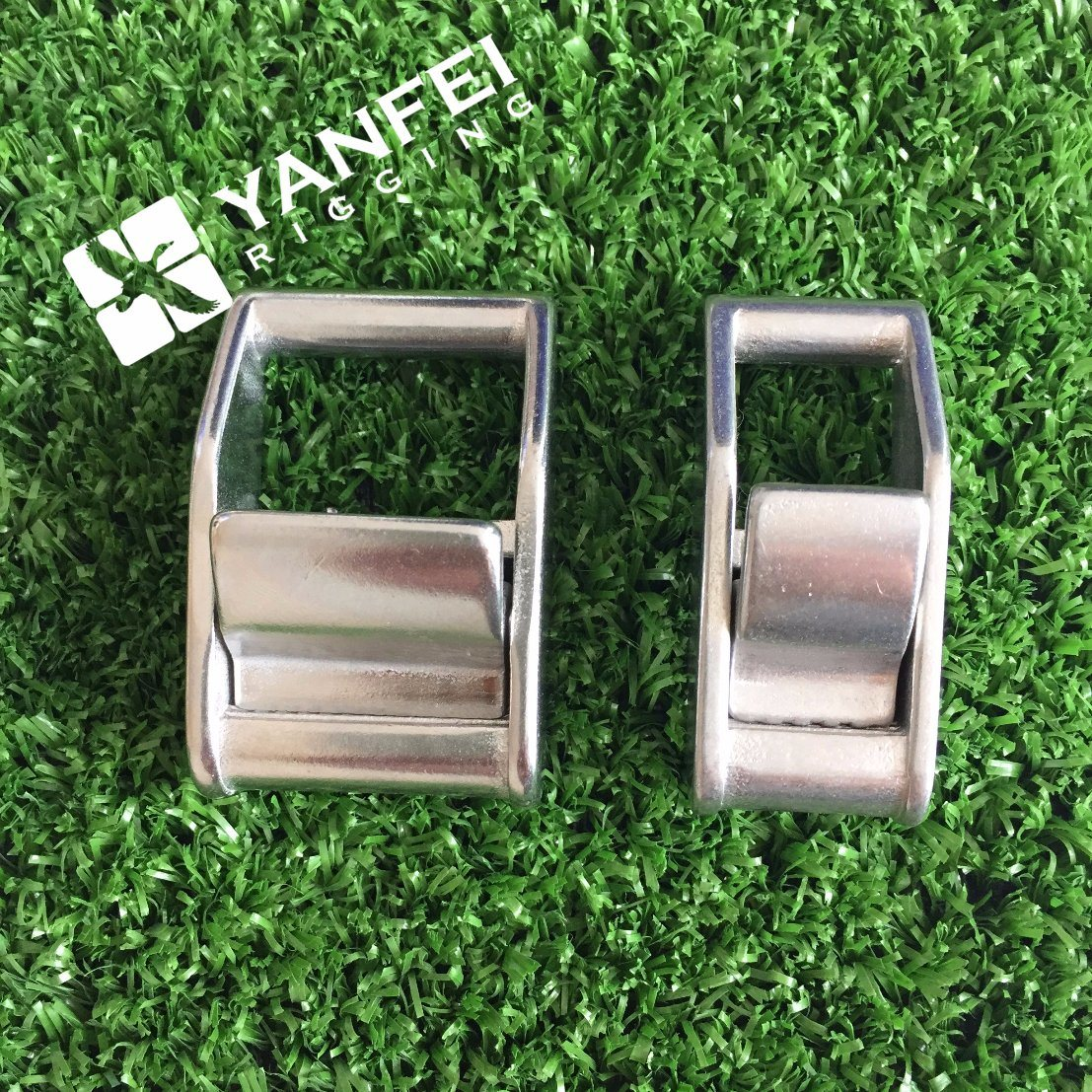 Yanfei Rigging 1inch Heavy Duty Stainless Steel Cam Buckle