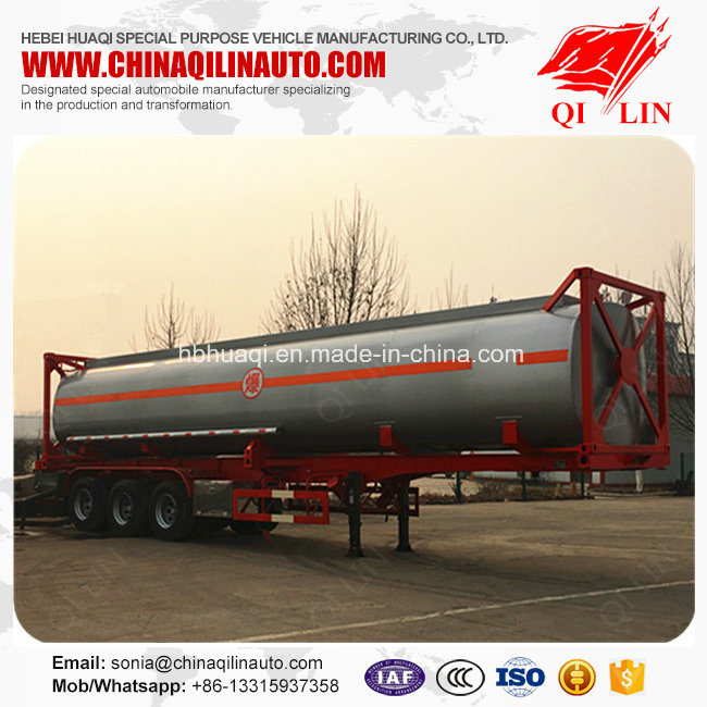 High Quality 40 Feet Skeleton Container Tanker Semi Trailer