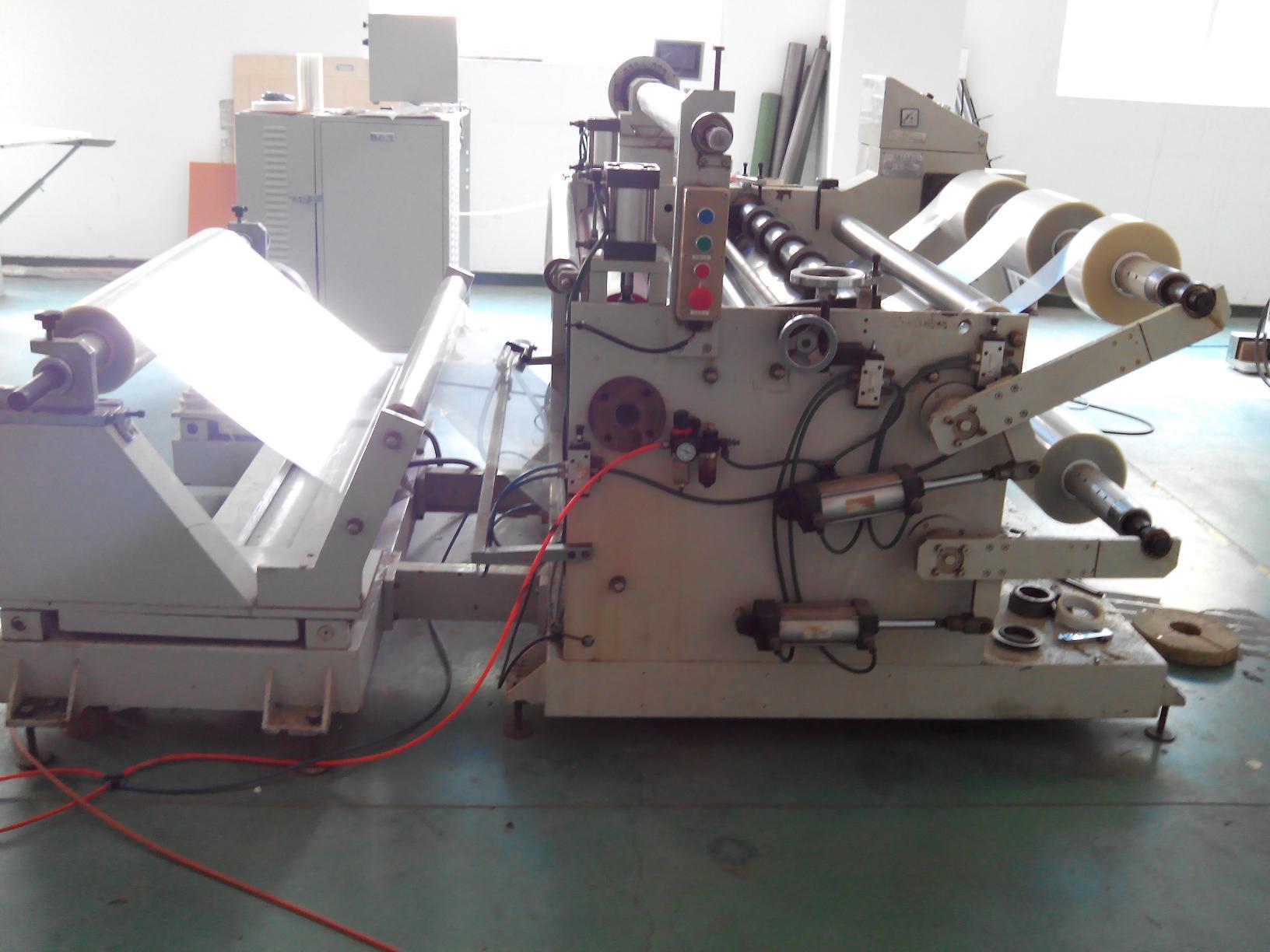 Automatic Slicing Machine of PVC, OPP, Pet, PE, PU, BOPP (With CE)