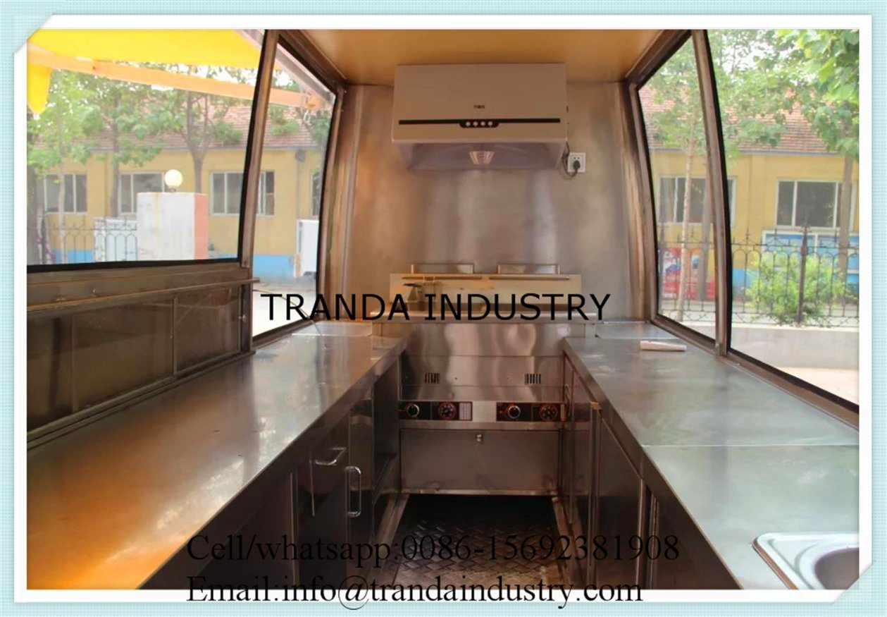 Chicken Rotisserie Mobile Restaurant Trucks