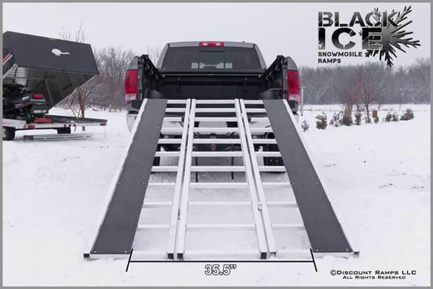 Snowmobile Aluminum Ramp (PR10307)
