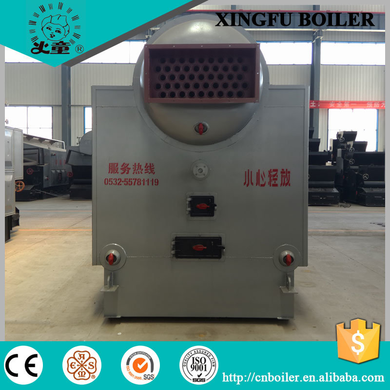 Dzl 1 to 20 Ton Chain Grate Coal Fired Steam Boiler