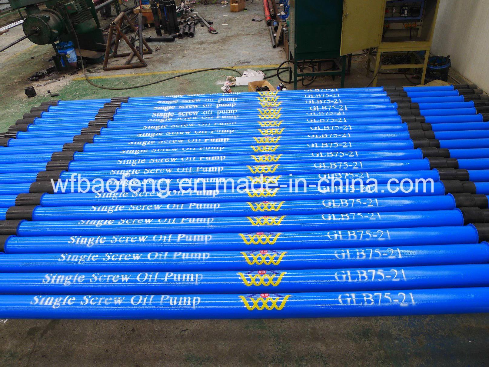 """7""""Casing Screw Pump Well Pump Rotor and Stator Glb120/36"""
