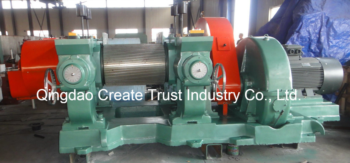 2017 Hot Sale Rubber Cracker Mill with Ce&ISO9001 Certification
