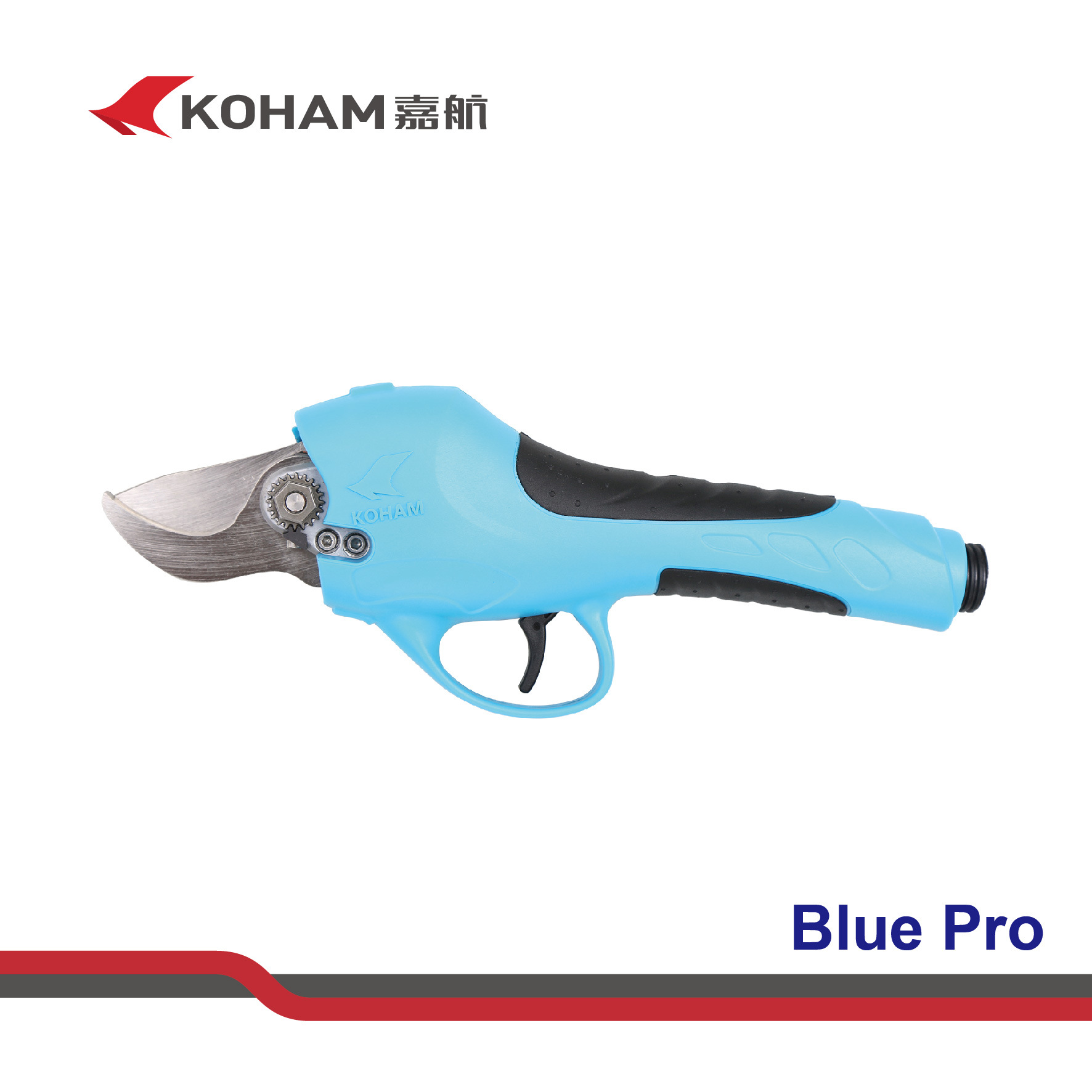 Koham Tools Plum Tree Branches Cutting Battery Secateurs