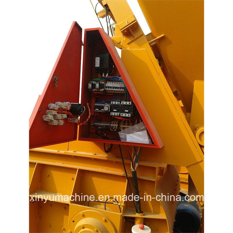 Js Series Twin Shaft Compulsory Concrete Mixer (JS750)