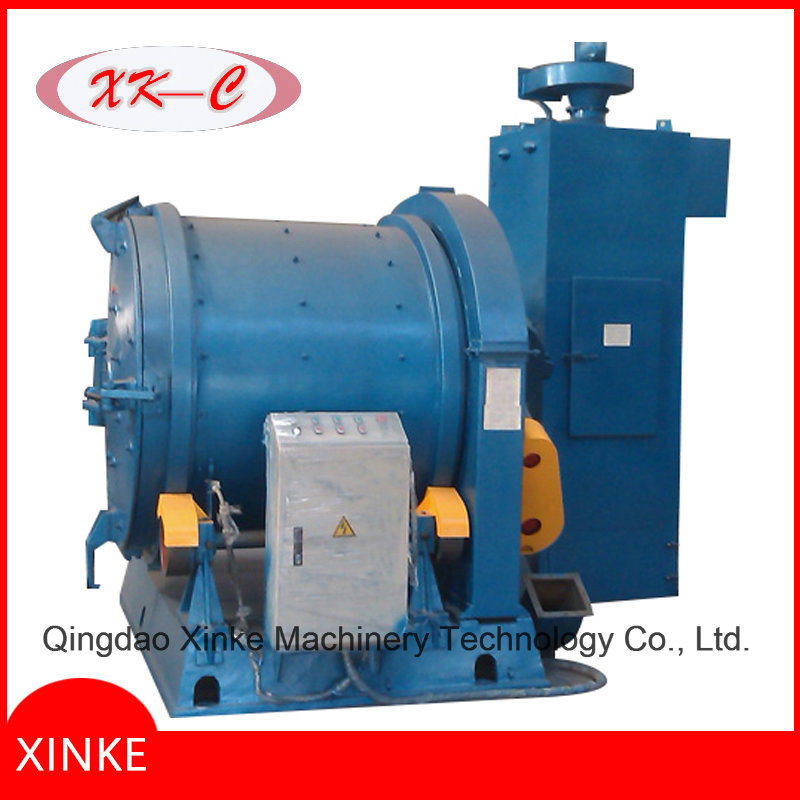 Rotary Barrel Wheel Type Shot Blasting Machine