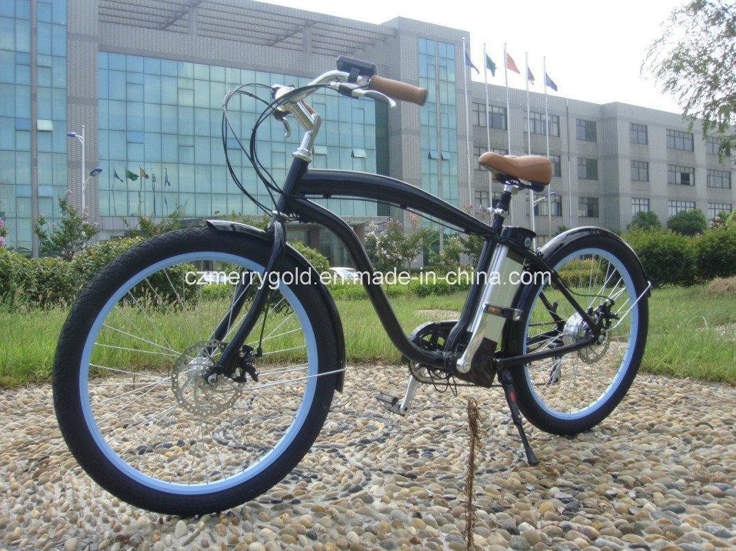 36V 250W Electric Beach Cruiser Bike En 15194 Approved