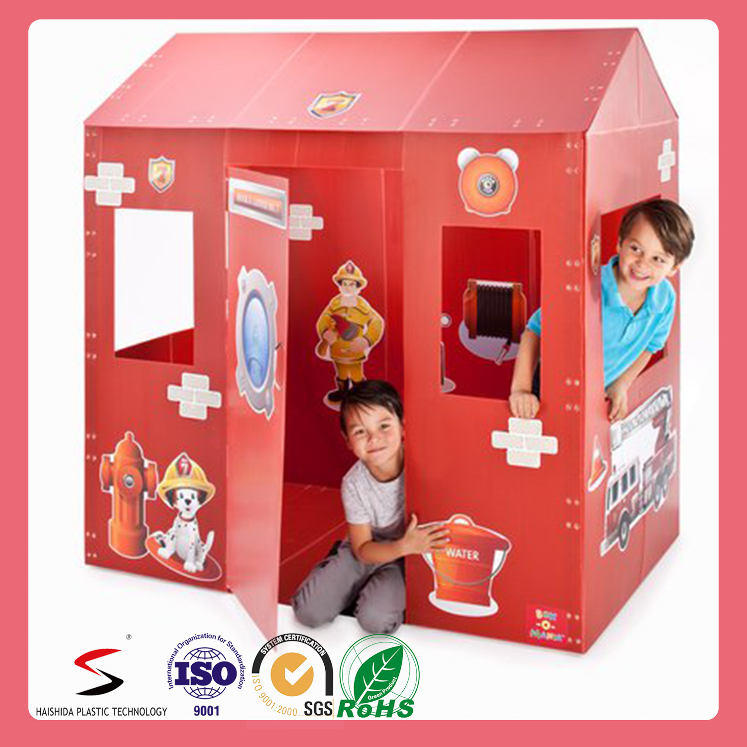 New Design Custom Recyclable Playhouse Kids Playhouse