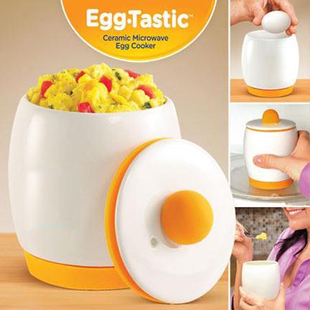 Ceramic & Silicon Egg Tastic, Microwave Egg Cooker