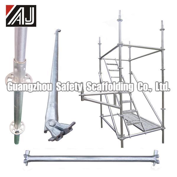 Guangzhou Manufacturer Steel Galvanized Ringlock Scaffolding