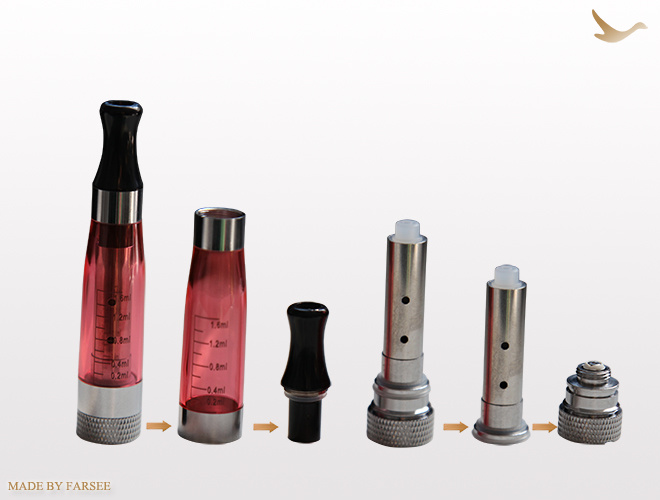 Hot Product Colorful E-Cigarette Clearomizer (Fs-T5)