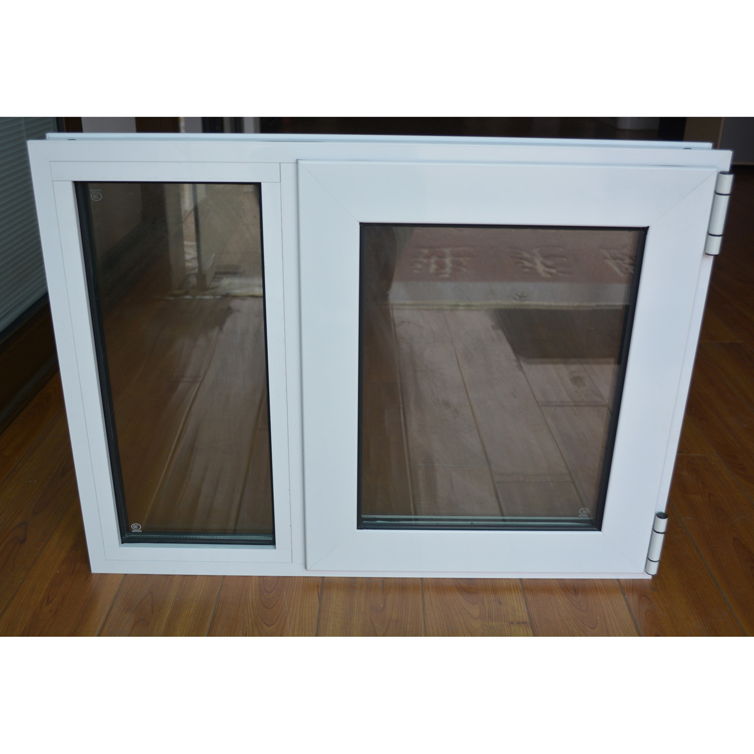 Powder Coated Aluminium Profile Casement Window K03001
