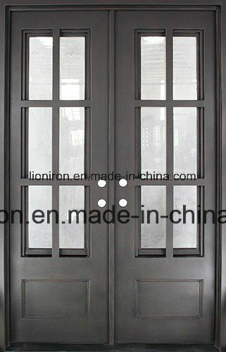 Sucurity Ornamental Wrought Iron Entry Front Doors for House