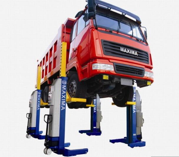 Maxima Wireless Heavy Duty Column Lift Ml4030W Ce Certified Bus Lift/Truck Lift