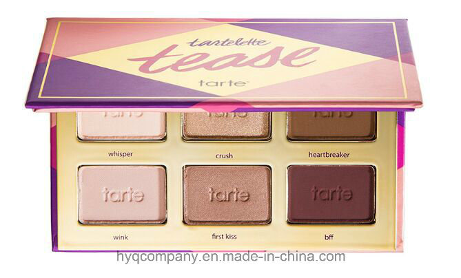 New! Tarte Tartelette Tease Eyeshadow 6 Colors Shimmer Glitter Eye Shadow Palette