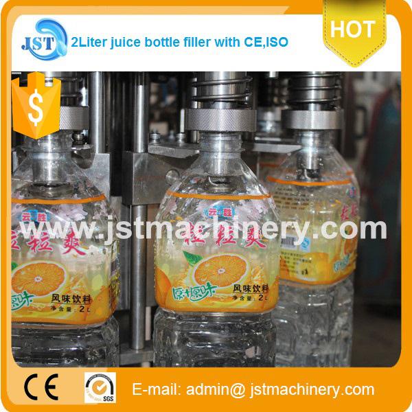 14000 Bph Pet Bottle Juice Rinser Filler Capper