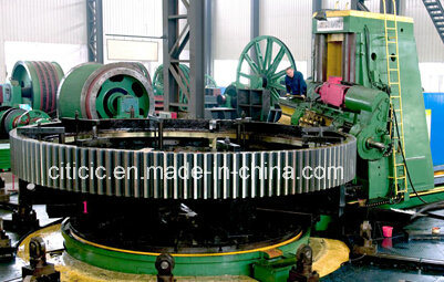 Cast Integrated Large Girth Gear Ring of Rotary Kiln